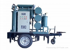 VPM Mobile type Vacuum Insulating Oil Purification