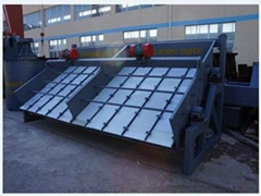 High frequency fine-mesh vibrating screen