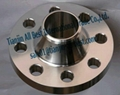 Stainless weld neck flanges forged iron pipe fittings 2