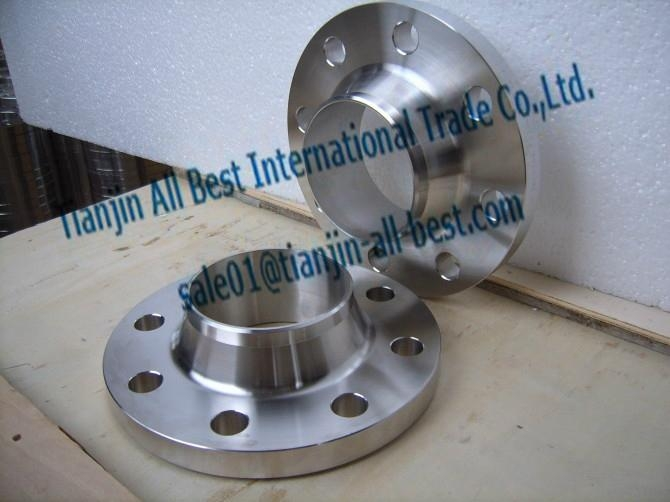 Stainless weld neck flanges forged iron pipe fittings 3