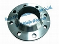Stainless weld neck flanges forged iron pipe fittings 5