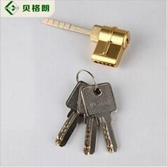 热销新款欧式室内木门锁 房门锁机械门锁 黄古铜色实木门锁锁具