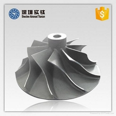 Titanium alloy aotumotive engine parts