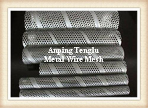 Stainless Steel Round Hole Perforated Tubes