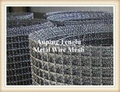 Black Crimped Dutch Epoxy Holland Kintted Sintered 5 Heddle Wire Mesh