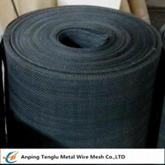 Black Iron Wire Cloth