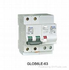 蒙崎GLOG1-100漏電斷路器