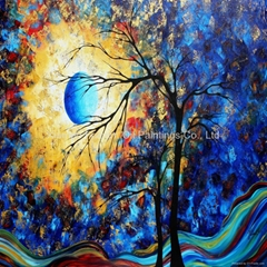 Abstract Oil Painting Wa