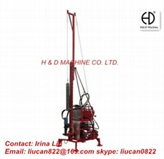 Portable coring drilling rig