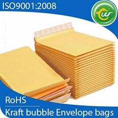 Kraft bubble mailer