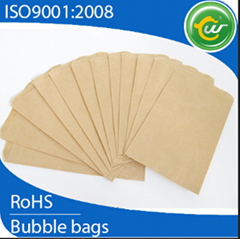 Recyclable brown kraft bubble padded envelopes