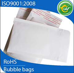 White Kraft bubble envelope water proof mailers