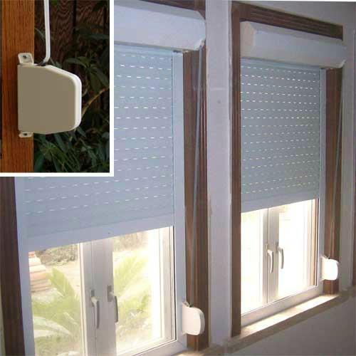 外遮阳卷帘窗 2