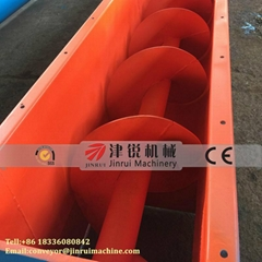 Carbon Steel Sand Screw Feeding Conveyor