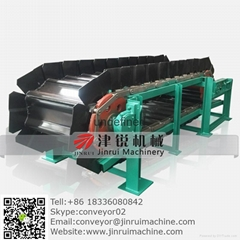 handle impact bulk material apron conveyor  plate feeder