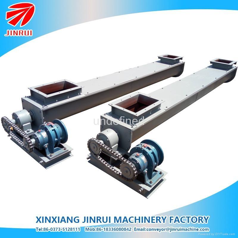 3m length U shape conveying washing powder screw conveyor 1