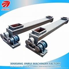 3m length U shape conveying washing powder screw conveyor