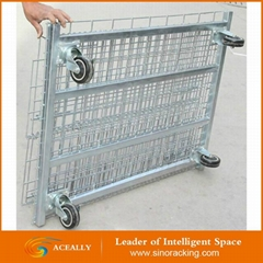 Cheap Welded Wire Mesh Cage for Sale Steel Storage Mesh Container Packaging Box