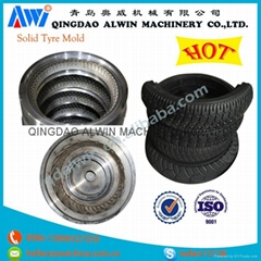 Small Steel Solid Tyre Mould from