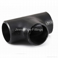 Seamless Butt Weld Carbon Steel Pipe Tee