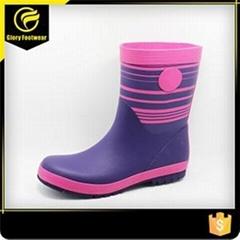 Waterproof Lightweight Safety Rain Boots