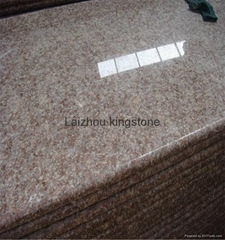 G687 Peach Red cheap granite stair step