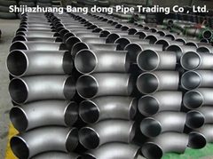 carbon steel pipe long radius elbow