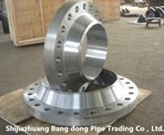 large diameter weld neck flange