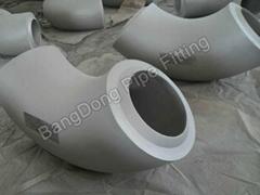 alloy steel large diameter long radius elbows