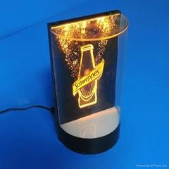 有机玻璃LED发光展架