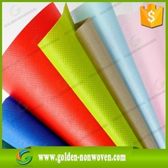 waterproof 60gsm recycled non-woven fabric cloth polypropylene roll
