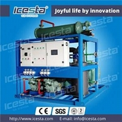 Tube Ice Maker With PLC Program Controller 15t/24hrs