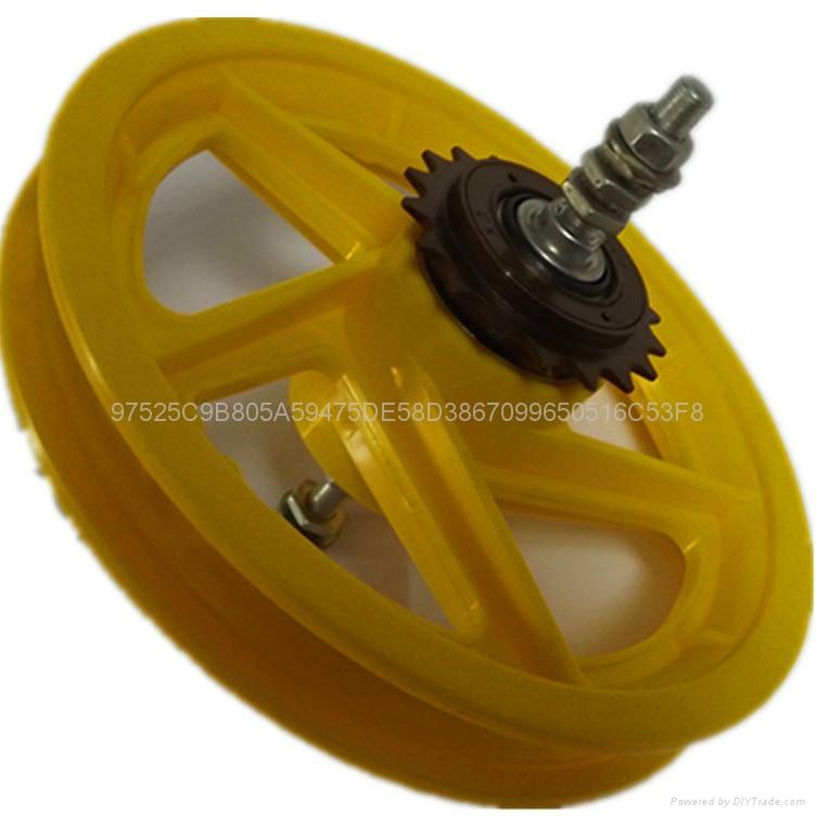 供應塑料輪轂  4