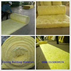 CONING INSULATION Glass wool roll with Alum.foil faced one side