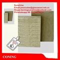 Coning insulation rock wool slab rock wool board knrw for Fireproof rockwool