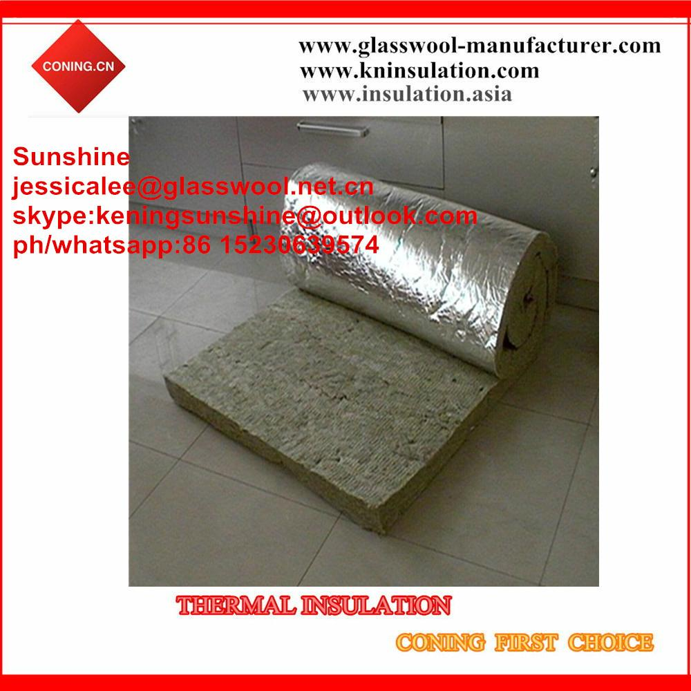 Coning insulation mineral wool roll knrw 007 china for 3 mineral wool insulation