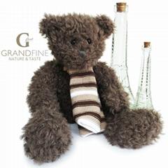Factory dolls long plush scarf teddy bear for kids toys gift