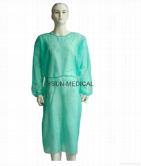 Disposable Isolation Gown Non woven Medical Isolation Gowns PP Isolation Gown