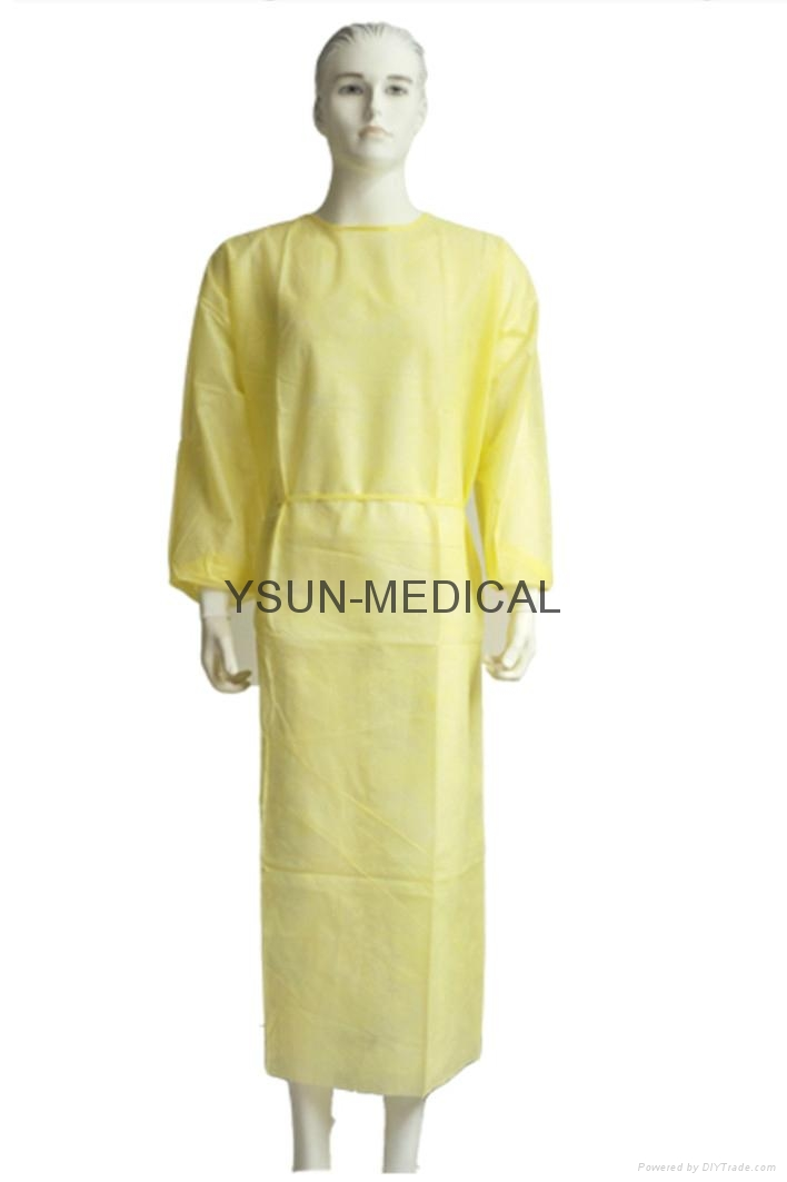 Isolation Gown Medical Isolation Gowns PP Isolation Gown Nonwoven ...