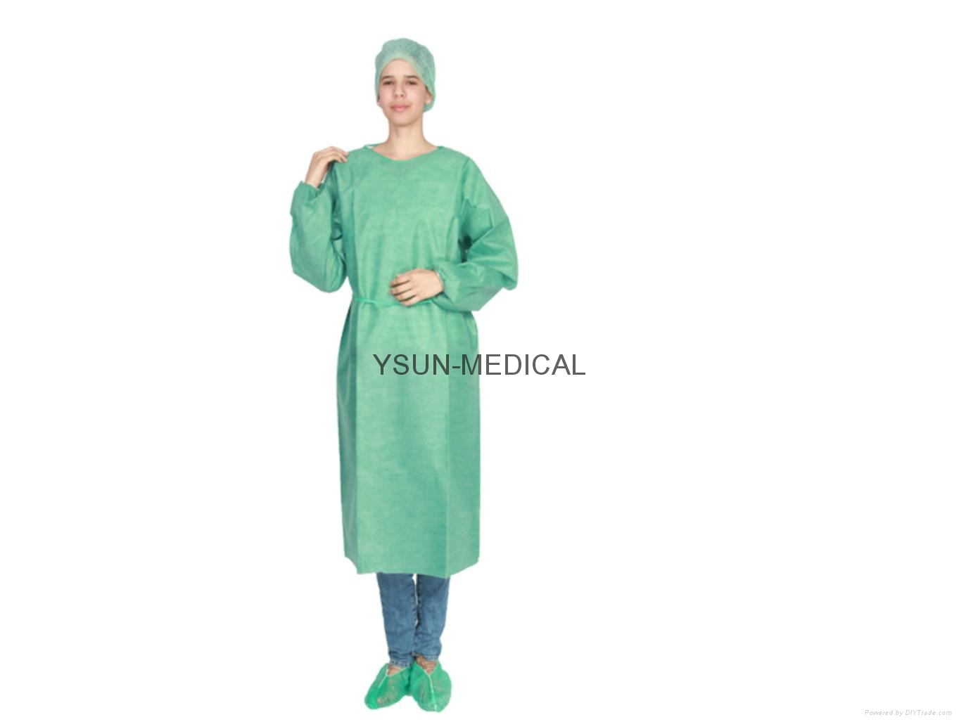 Surgical isolation gown Disposable Non Woven Isolation Gown(PP,SMS)  1