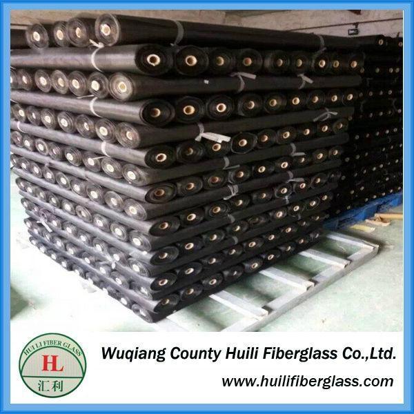 Cheap!!!! Huili Factory Price Fiberglass Mesh black Colored window screen nettin 5