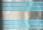 Woven Blue Jacquard Damask Fabric Striped Jacquard Bed Linen
