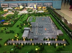 黑龙江沙盘模型