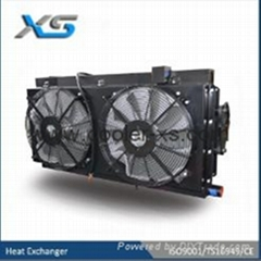 High speed train oil cooler High pressure New Design