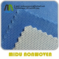 100% SMS Nonwoven Fabric smms Spunbond PP Non Woven Fabric