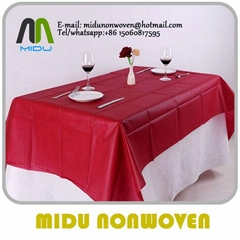 50g pp table cloth 100%