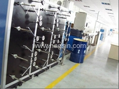 CE ISO Fiber Loose Tube Extruder Optical Fiber Cable Secondary Coating Line