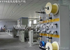 CE ISO FTTH cable line FTTH Terminal Optical Fiber Drop Cable Equipment in China
