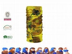 Outdoor sport headwear tube multifunctional bandana