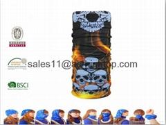 Custom Multi Functional Seamless Wear Tube Bandana